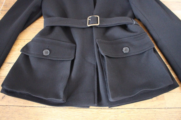 Jacket Pockets and Belt